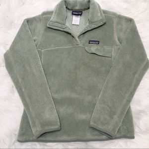 Patagonia Re Tool Snap T Fleece Pullover Sage